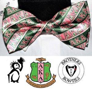 Alpha Kappa Alpha Sorority Inc Women's bow tie